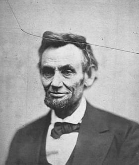 The final known photo of Abraham Lincoln
