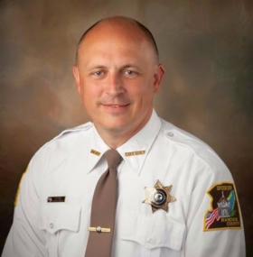 Hancock County Sheriff Scott Bentzinger