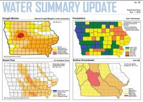 The latest Iowa DNR Water Summary.