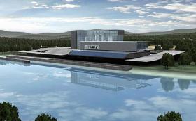 Artist concept of FutureGen Power Plant