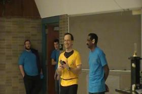 Jim Rabchuk (in the yellow shirt)