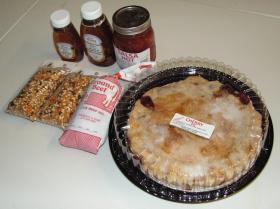 Some of the foods available through the online market