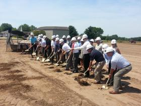 Groundbreaking for Sports Complex in Fort Madison