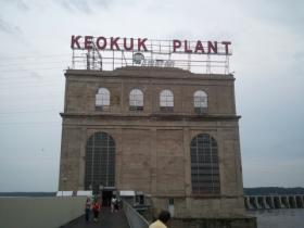The Keokuk Police Department says the body was pulled from the Mississippi River near the power plant at Lock & Dam 19