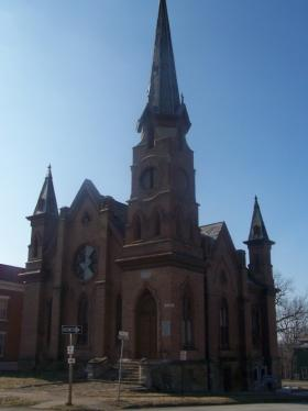 The former Unitarian Church in Keokuk is on Preservation Iowa's 2014 Most Endangered list.