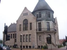 The former Gardner Museum of Architecture and Design in downtown Quincy, Il.