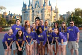 The Disney World Communication Culture 2013 class at Disney World.