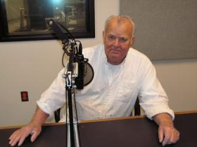Lou Gilbert at the Tri States Public Radio studios