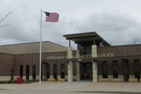 Burlington's new school resource officer will rotate between Edward Stone Middle School and Aldo Leopold Middle School.