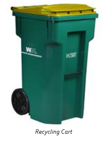 Galesburg Recycling Cart