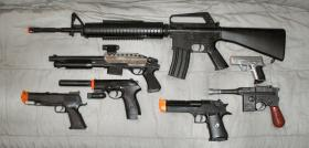 """An attempt to avoid confusion between real and """"fake"""" guns was voted down by the Burlington City Council."""