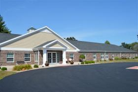 Maple Grove Memory Care will be built across the street from Hancock County's Hickory Grove Supportive Living Facility (pictured).