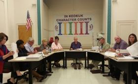 The Keokuk School Board