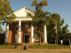 The North Lee County Courthouse