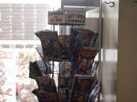 Comic books at Journey Comics
