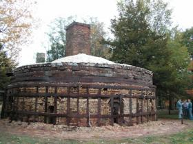 Money is needed to stabilize and preserve the beehive kilns at the Brickyard.
