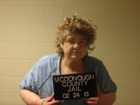 Brenda Raines was sentenced to more than 10 years in federal prison for meth-related crimes.
