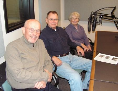 Dave King, Dennis Samuelson, and Ginny Samuelson