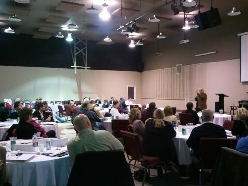 Iowa State University Extension's Sustainability Summit for Lee County in Keokuk.