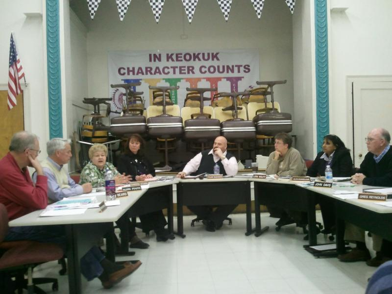 Keokuk School Board