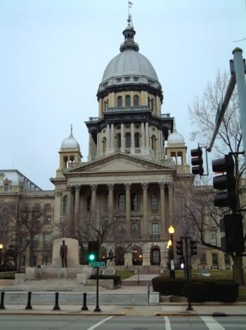 The Illinois Capitol building