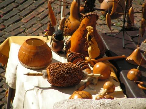 Art from gourds