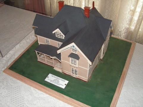 A model of the Old Bailey House