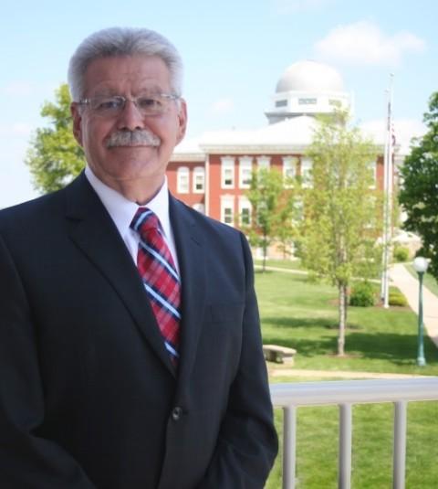 Culver-Stockton College President Dick Valentine