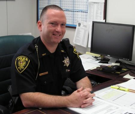 Macomb Police Chief Curt Barker