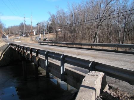 The Wigwam Hollow Road bridge might be repaired with money from the bond sale.
