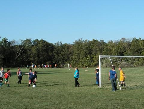 Soccer at Veteran's Park