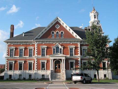 The McDonough County Courthouse