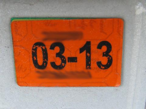Illinois Licesnse Plate Sticker