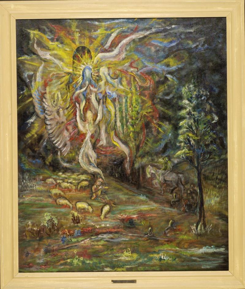 Anton Rogalski Shepherd Song, 1934  - Conservation Cost $4,265.00