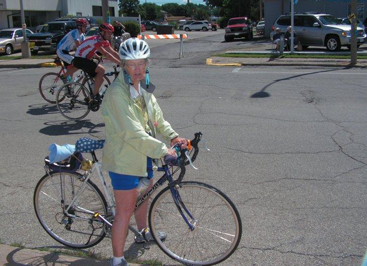 Margaret Paulos rode in the first RAGBRAI and in this year's.