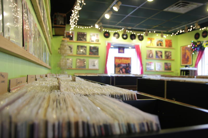 There are at least 3,600 bad kitties in the record shop.