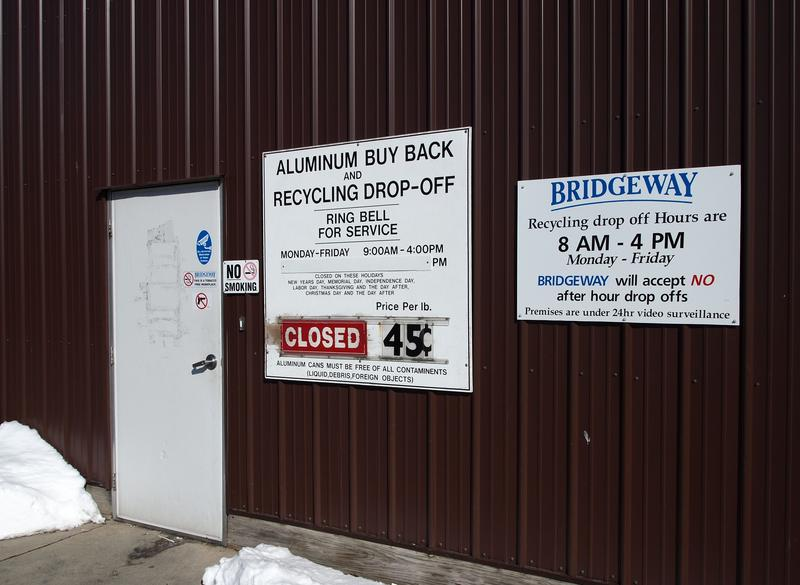 Bridgeway shut down its recycling program in Macomb