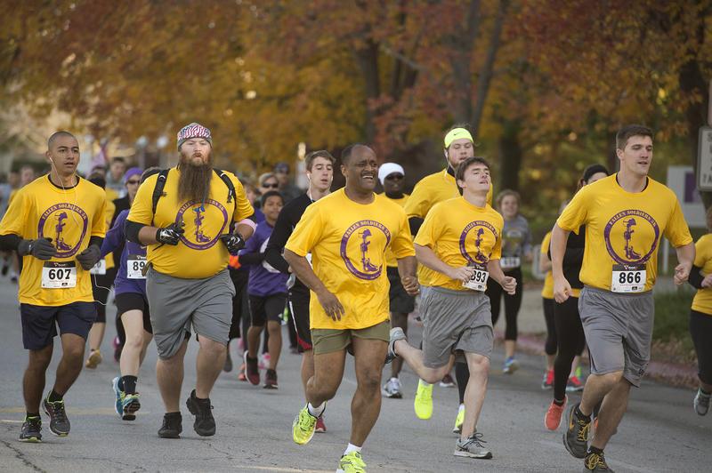 2014 Fallen Soldiers 5K at Western Illinois University