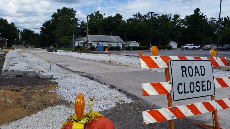 The Adams St. renovation began in spring and is expected to be open to traffic in mid August.