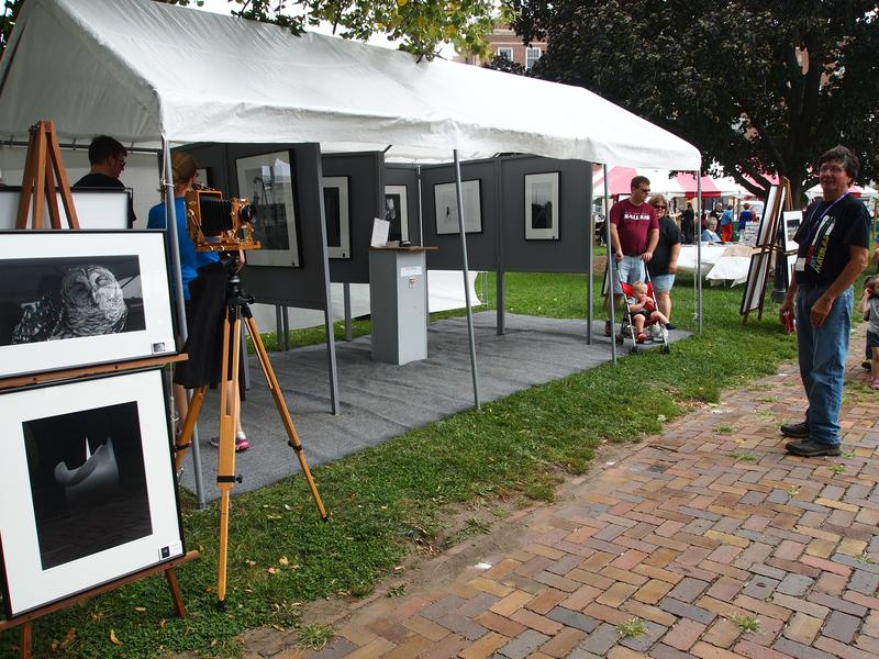 The Gazebo Art Festival is one of the events now being promoted by the Macomb Area CVB.