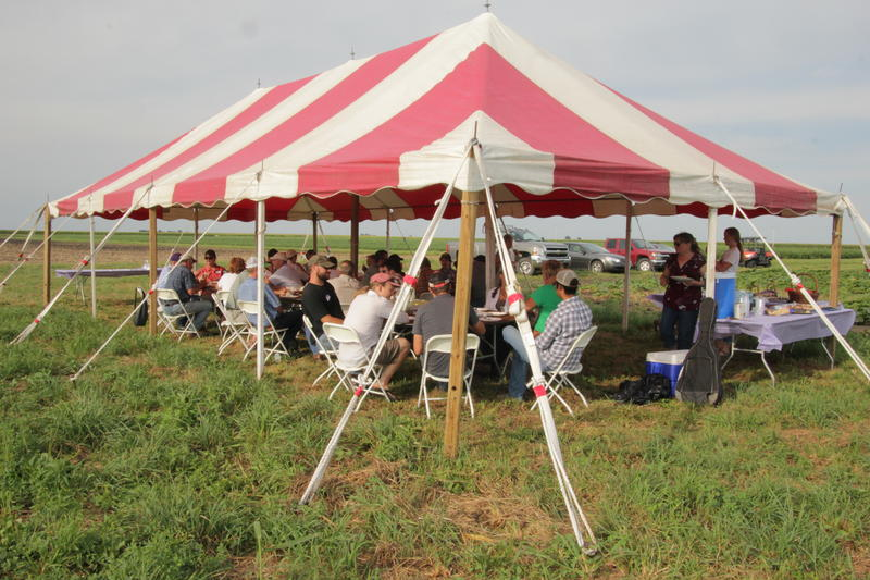 The second annual Organic Fest, hosted by the Illinois Organic Growers Association, was held at the WIU Allison organic research and demonstration farm.