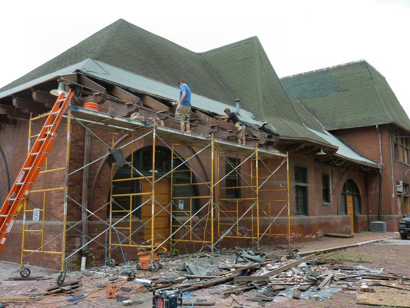 The Keokuk Union Depot is just one of the buildings in southeast Iowa getting some work done this summer.