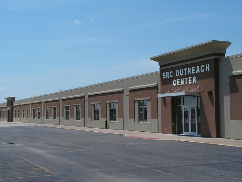 The Community Outreach Center is the only part of SRC's operation currently housed at the new Macomb campus.