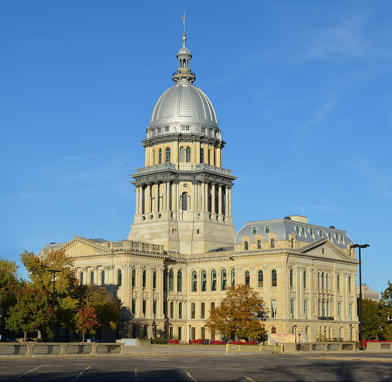 The Illinois Capitol