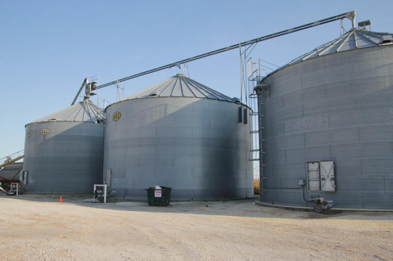 More expensive storage space is one reason farmers seek to sell their crop when interest rates rise.