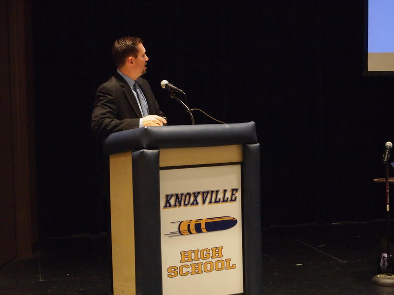 Knoxville Superintendent Steve Wilder is also concerned about potential property tax freezes and caps and how it would affect funding.