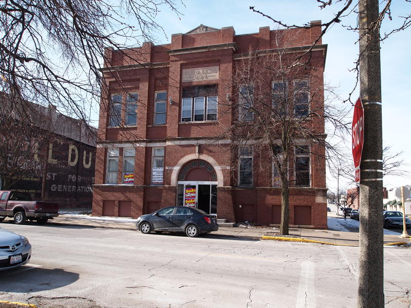 The former Galesburg Elks Club sits in the downtown area, a block away from East Main Street.