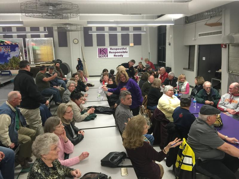 It was a packed house for Republicans in Keokuk's 7th Ward