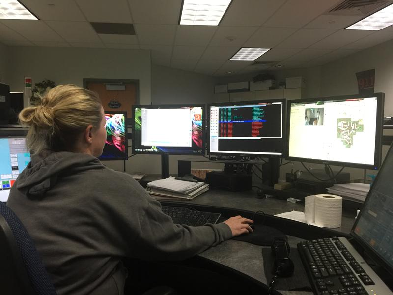 Dispatcher Tera Gustafson has been with LeeComm for 3 years. The agreement creating the service expires June 30.