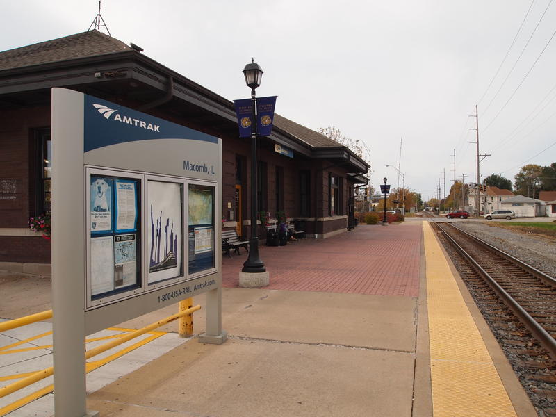 """This will cost a few hundred thousand dollars but it's well worth it, especially at a popular station such as ours in Macomb,"" said Amtrak's Marc Magliari.  ""We had more than 71,000 passengers through that building in Fiscal Year 2015."
